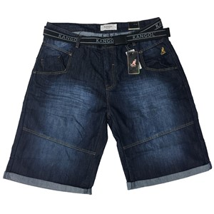 Kangol Punk Denim Shorts